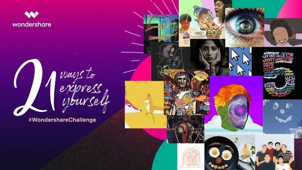 The #WondershareChallenge Campaign Unleashed Content Creators' Imagination All Around the World