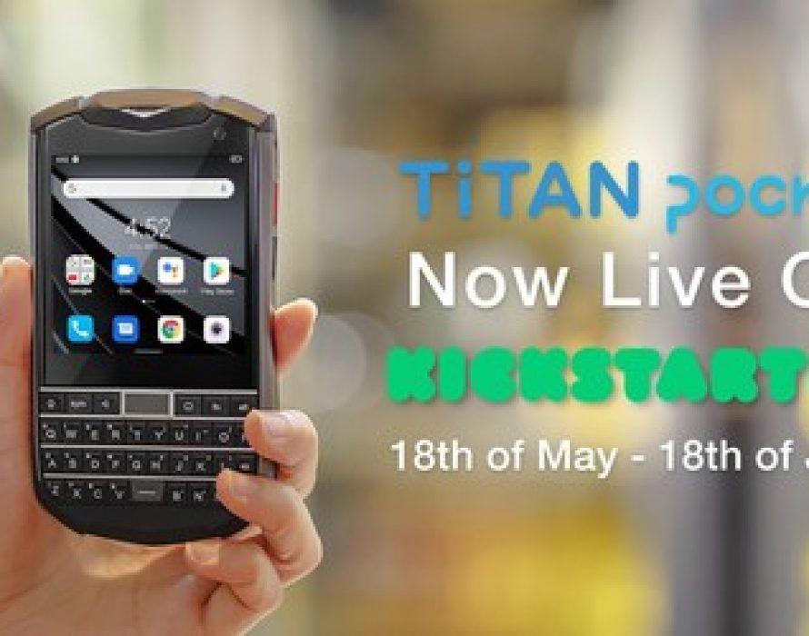 Unihertz Announces New Kickstarter Launch of Titan Pocket – The Smallest QWERTY Android 11 Smartphone