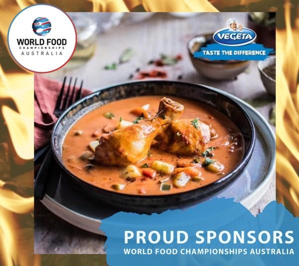 Vegeta, seasoning up the World Food Champions Australia kitchen