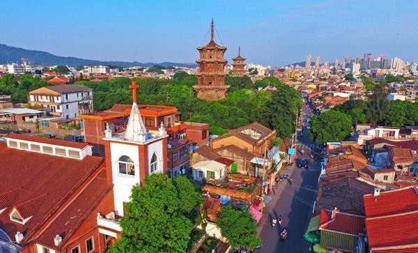 Quanzhou exhibits China's cultural diversity. (Photo by Chen Yingjie)