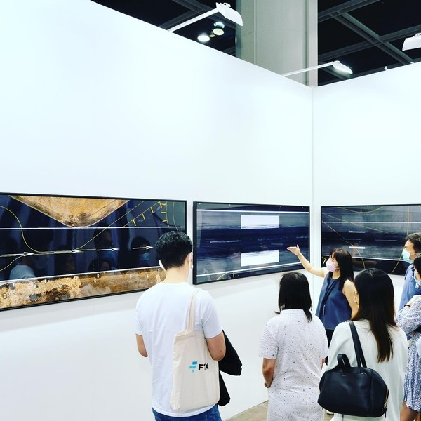 The Spectacle Group exhibiting Antoine's 'Uncharted' series NFTs at Art Central in Hong Kong (May 19-23, Booth 18, HKCEC Hall)