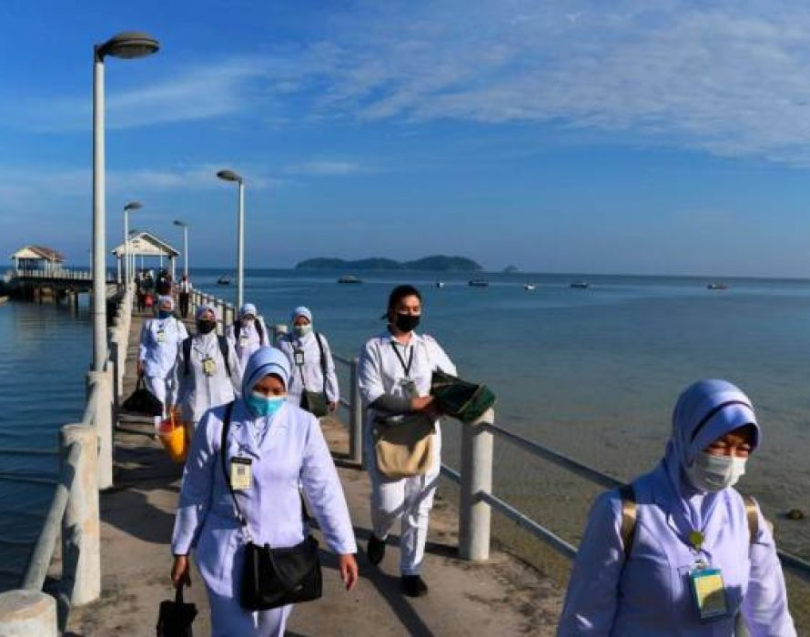 Popular Tioman resort turns into Covid-19 vaccination centre