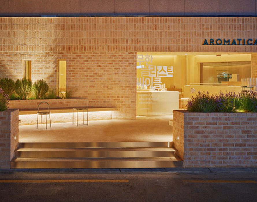 A Brand Embassy for Sustainable Beauty: AROMATICA opens a zero-waste complex cultural space in Seoul, Korea