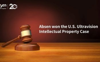 Absen wins the U.S. Ultravision Intellectual Property Case