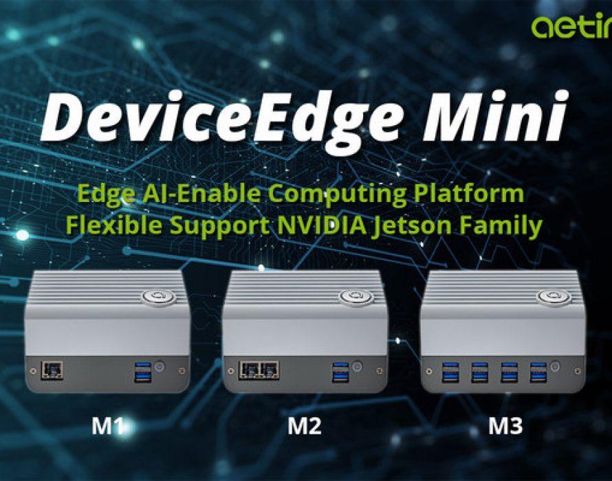 Aetina Launches New Series of Edge AI Solution — DeviceEdge Mini