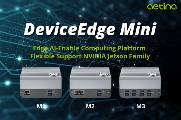 Aetina launch the newest offer of their DeviceEdge platform lineup - the Mini Series, which provides multiple options and SKUs to help developers build and deploy AI applications into mass production.
