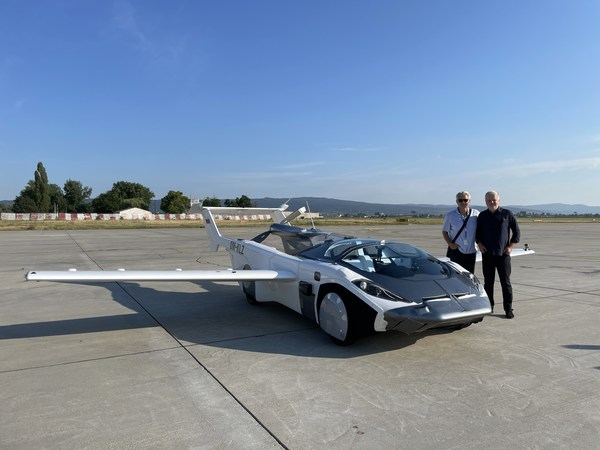 Klein Vision's patent protected AirCar - the dual-mode car-aircraft vehicle.
