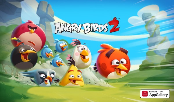 Angry Birds 2 Arrives on AppGallery to Bring Feathery Fun Challenges and Offers to Huawei Users