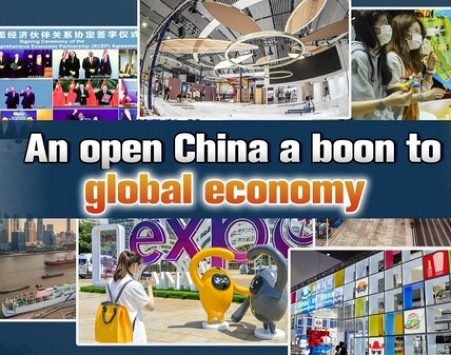CGTN: An open China is a boon to global economy