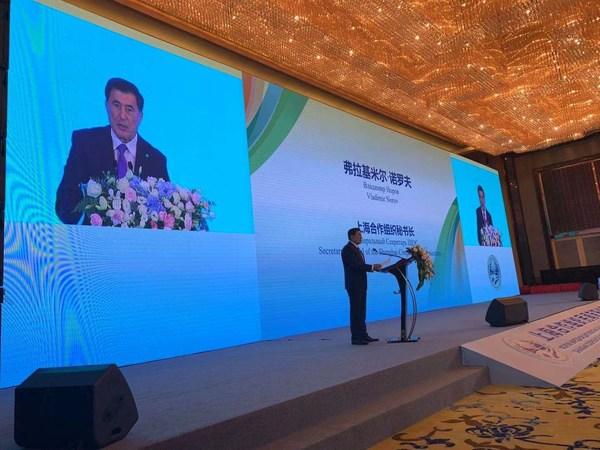 Secretary-General of the Shanghai Cooperation Organization (SCO), Vladimir Norov