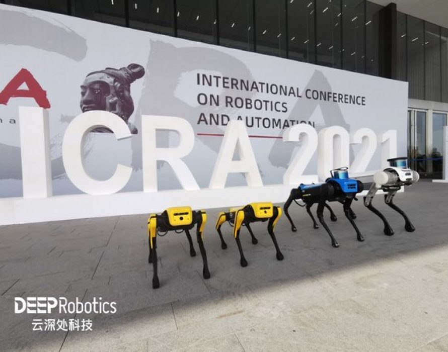 DEEP Robotics makes a splash with its Jueying series of robot dogs at ICRA 2021