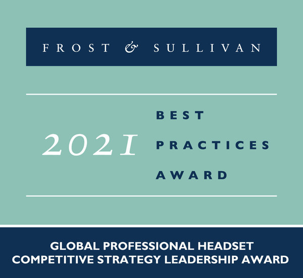 2021 Global Professional Headset Competitive Strategy Leadership Award
