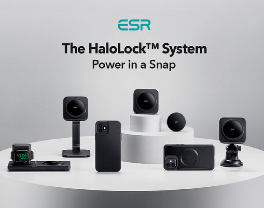 ESR Launches HaloLock™ System: Taking MagSafe Further