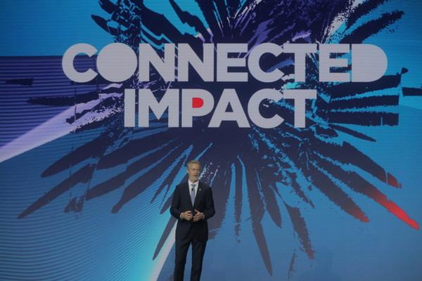 Mats Granryd, Director General of GSMA delivers keynote speech