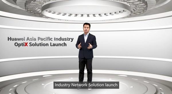 Jason He, Vice President of the Huawei APAC Enterprise Business Group (EBG)