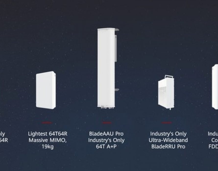 Huawei Releases 5G Series Products to Expand Multi-Antenna Technology to All Bands and Scenarios