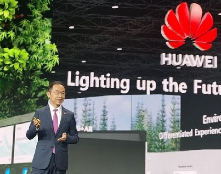 Huawei's Ryan Ding: Ongoing Innovation Is Lighting up the Future of Every Industry