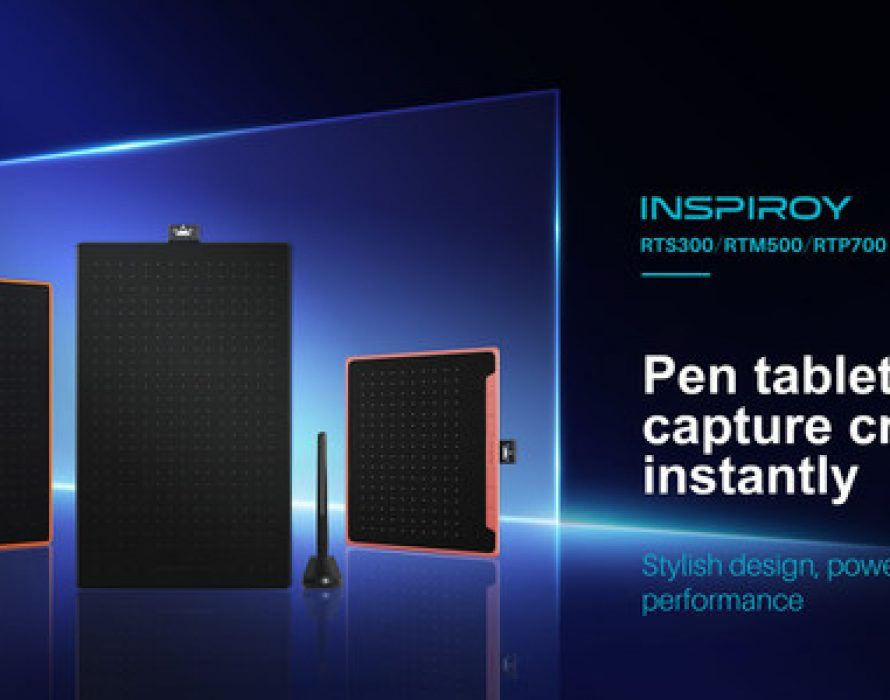 Huion Unveils New Line of Pen Tablets, the Inspiroy RTS-300, RTM-500, and RTP-700