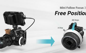 Introducing SmallRig Mini Follow Focus 3010, featured with free positioning of A/B stop to ensure control accuracy for video creators