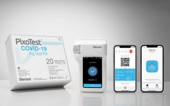 iXensor Launches CE-marked Fully Digitized PixoTest COVID-19 Rapid Test with Digital Health Pass to Facilitate Safe Reopening of Economies