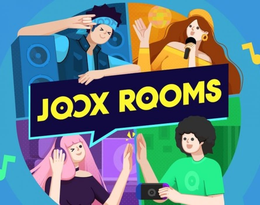 JOOX unveils new socially interactive ROOMS feature that allows live audio/video group chat, games and music sharing all at the same time