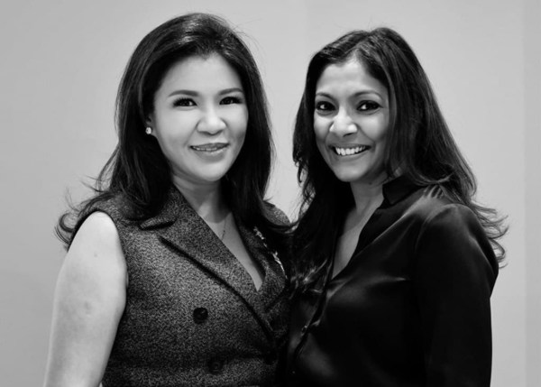Dr Karen Soh, Clinic Director, Medical Director, Laser Clinics Singapore and Sona Aggrawal, General Manager of Asia, Laser Clinics