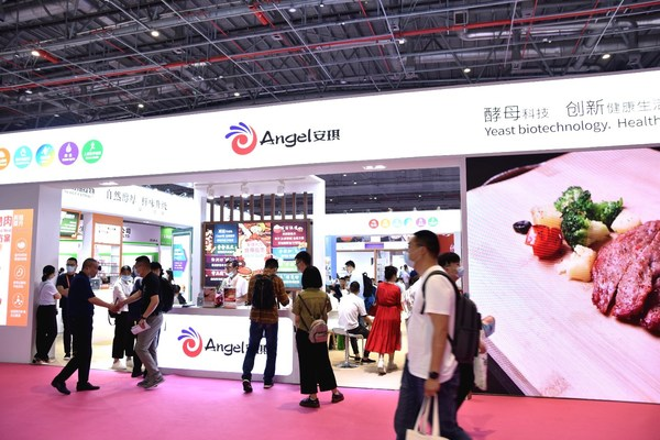 Angel Yeast's booth at the 24th Food Ingredients China, which took place from June 8 to 10 in Shanghai.