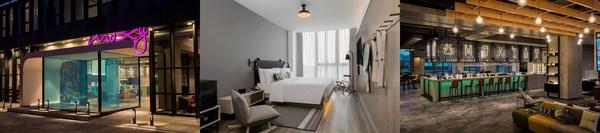 Moxy Shanghai Hongqiao CBD has officially opened its doors, debuting the Moxy Hotels brand in mainland China.
