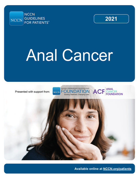 New NCCN Guidelines for Patients: Anal Cancer available for free at NCCN.org/patientguidelines