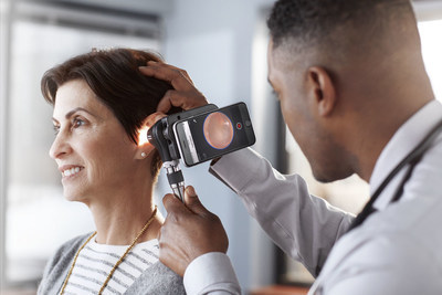 Digital image capture with the Macroview Plus Otoscope