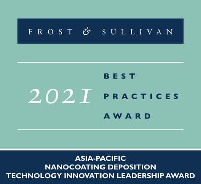 2021 Asia-Pacific Nanocoating Deposition Technology Innovation Leadership Award