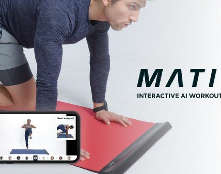 """Omolle Launches Ultimate Interactive Workout Mat """"MATIV"""" on Indiegogo"""