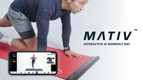 "Ultimate Interactive Workout Mat ""MATIV"""