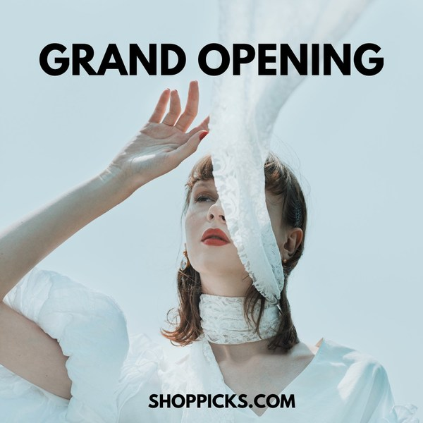 Online Premium Brands Flash Sale Platform 'SHOPPICKS' Is Officially Opened. Free delivery sitewide 23/6-2/7