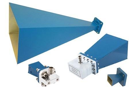 standard gain horn waveguide antennas lp