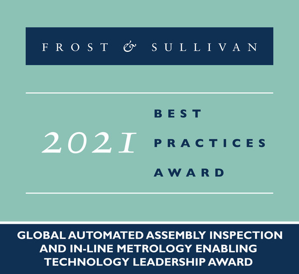 2021 Global Automated Assembly Inspection and In-Line Metrology Enabling Technology Leadership Award