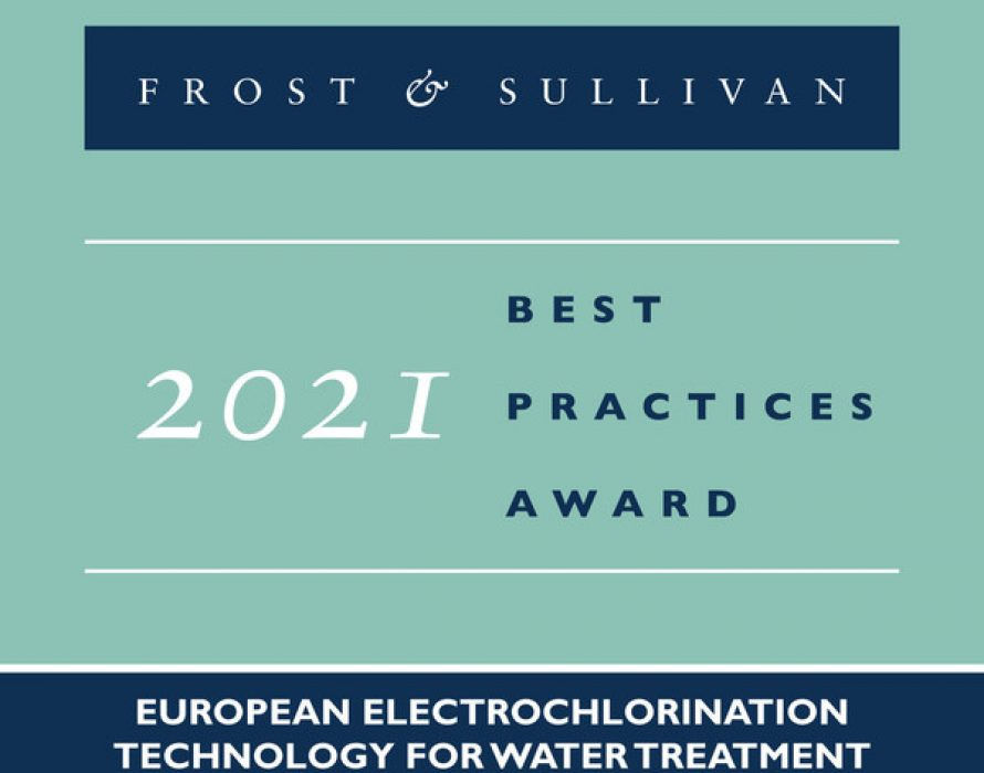 Permascand Applauded by Frost & Sullivan for its Flagship PermaChlor® Electrochlorination Water Disinfection Technology
