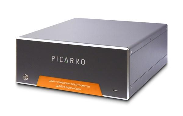 Picarro's G2920 Ambient Ethylene Oxide (EtO) gas concentration analyzer detects EtO at sub-100 parts-per-trillion (ppt) levels of sensitivity.