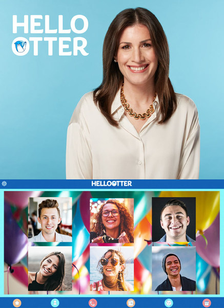 Michelle Rosaline founded HelloOtter as the first all-age video chat platform designed for authentic, playful connection.