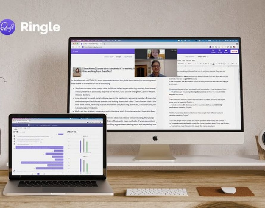 Ringle, online English learning service with 1:1 tutoring, raises $18M Series A