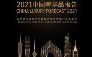 Ruder Finn and Consumer Search Group Jointly Announce the 2021 CHINA LUXURY FORECAST