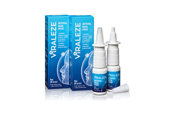 Starpharma's anti-covid nasal spray Viraleze has proven to be more than 98 per cent effective against the UK variant.