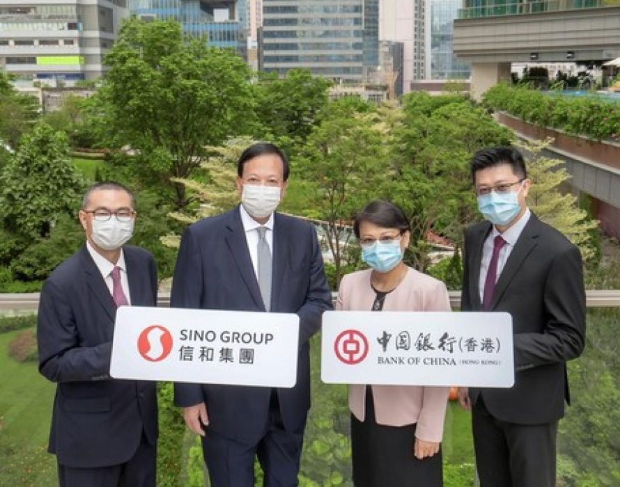Sino Land Secures its First HK$1 Billion Sustainability-Linked Loan from Bank of China (Hong Kong)