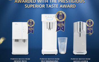 SK magic 'Water Taste' Globally Recognised