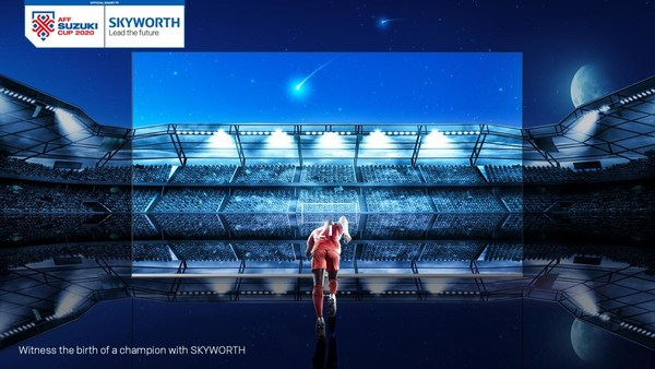 SKYWORTH Teams up with AFF for an explosive Partnership