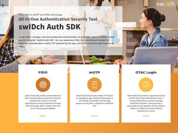 swIDch launches all-in-one authentication SDK to provide simpler, faster, and safer authentication in cybersecurity.