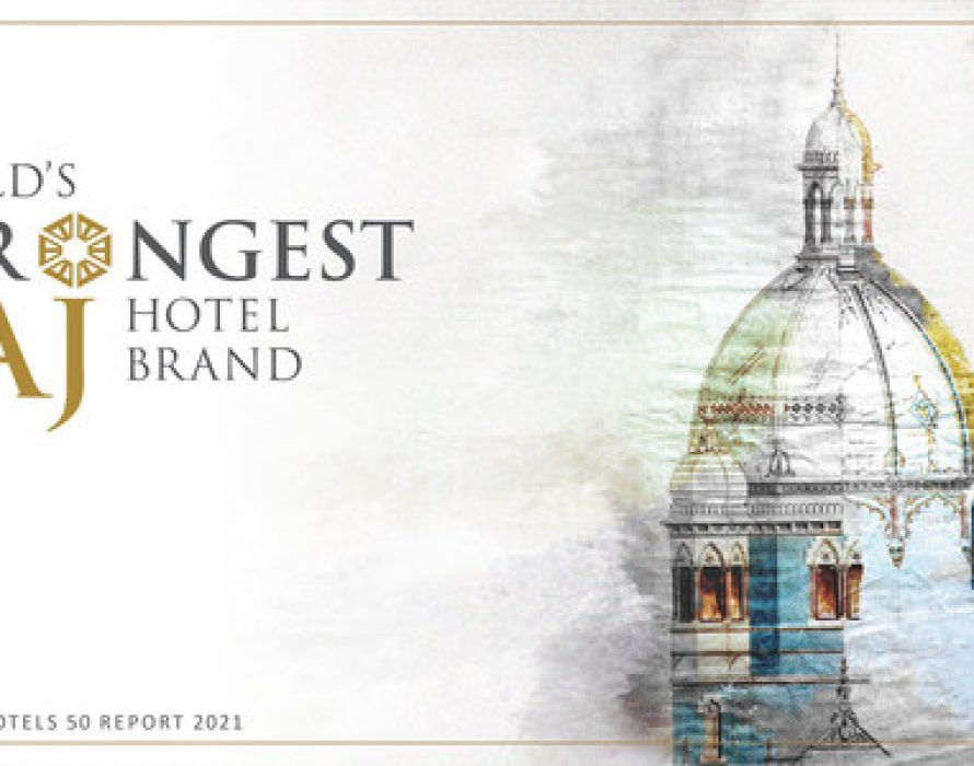 Taj Named Strongest Hotel Brand In The World