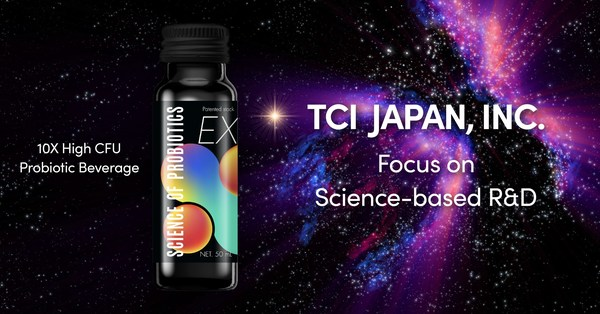 SCIENCE OF PROBIOTICS_TCI JAPAN's New 10X High CFU Probiotic Beverage