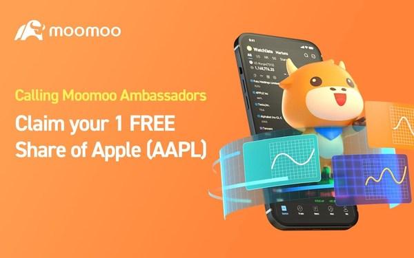 The Moomoo Trading App Launches New Referral Program - Moomoo Ambassador