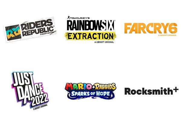 Ubisoft's new games lineup - Riders Republic, Rainbow Six Extraction, Far Cry 6, Just Dance 2022, Mario + Rabbids Sparks of Hope, Rocksmith+